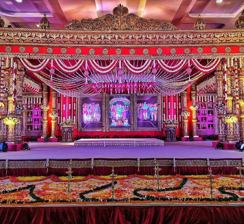 Pelli Mandapam Decorations