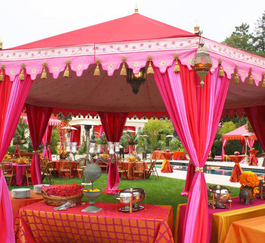 Tent House Material Supplier